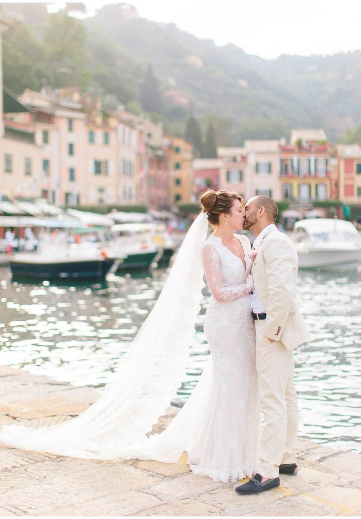 wedding in portofino at belmond splendido