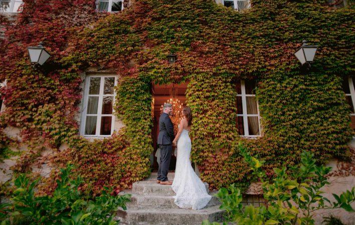 intimate wedding in Lucca at Villa Michaela