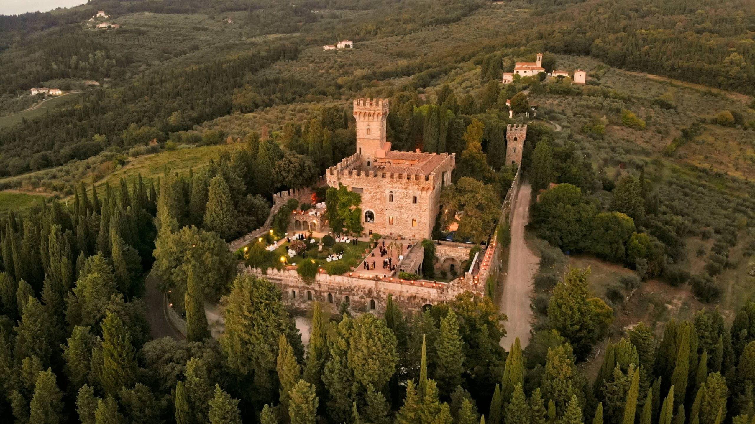 Vincigliata Castle in Florence