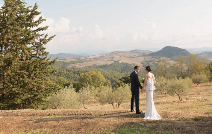 Stylish Wedding at Villa di Ulignano Volterra