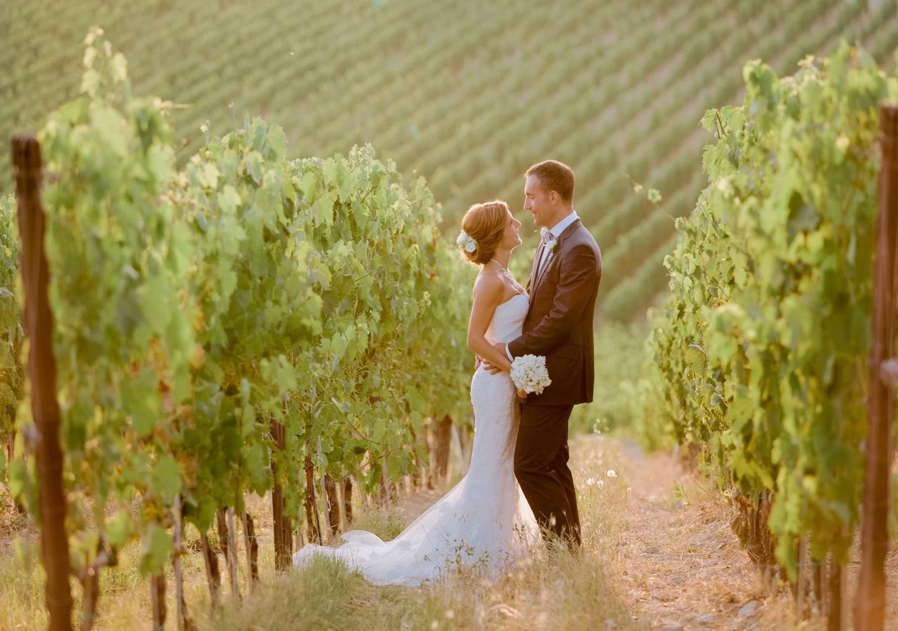 celebrate a wedding in Tuscany