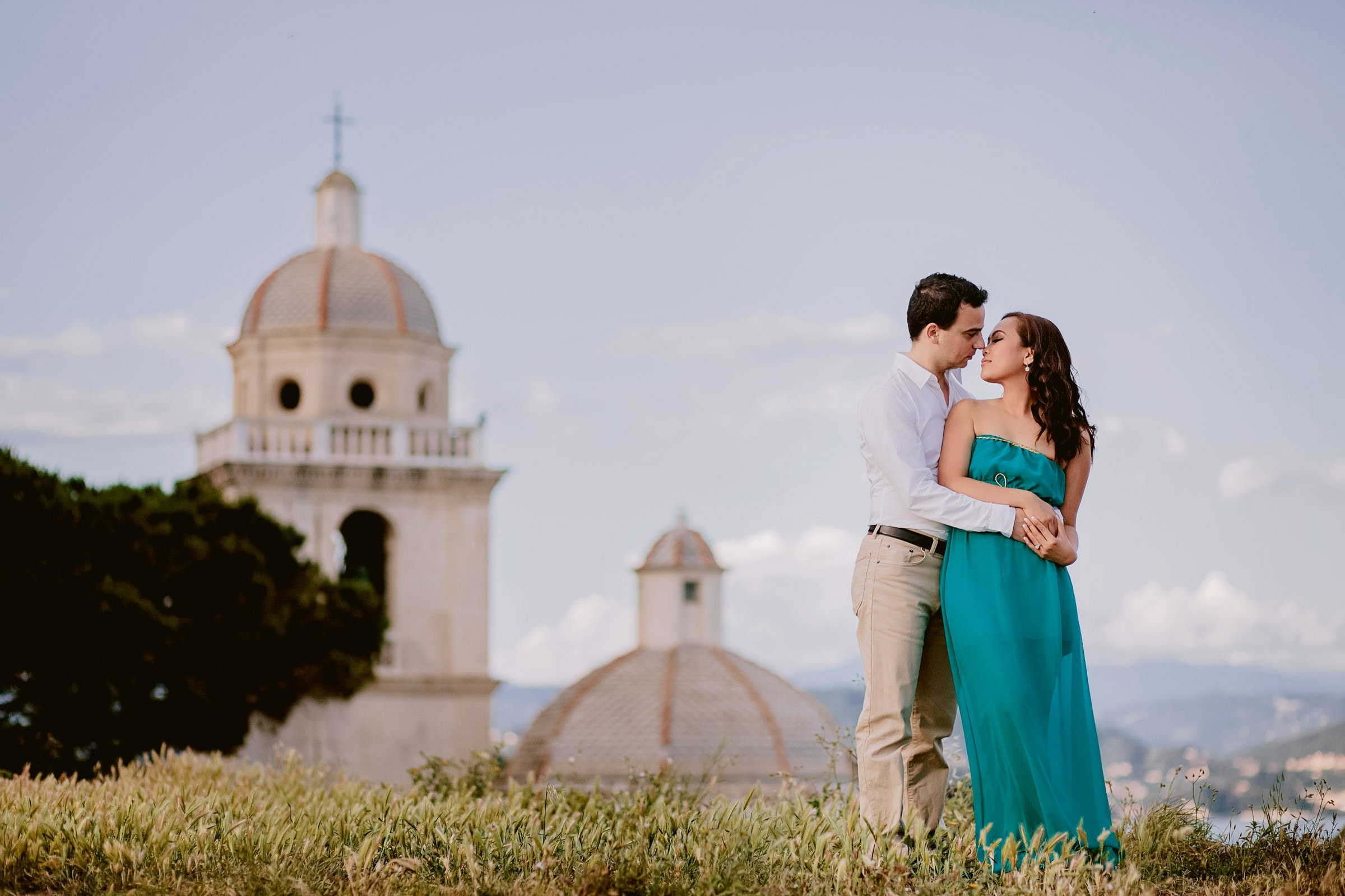 honeymoon photography in Portovenere