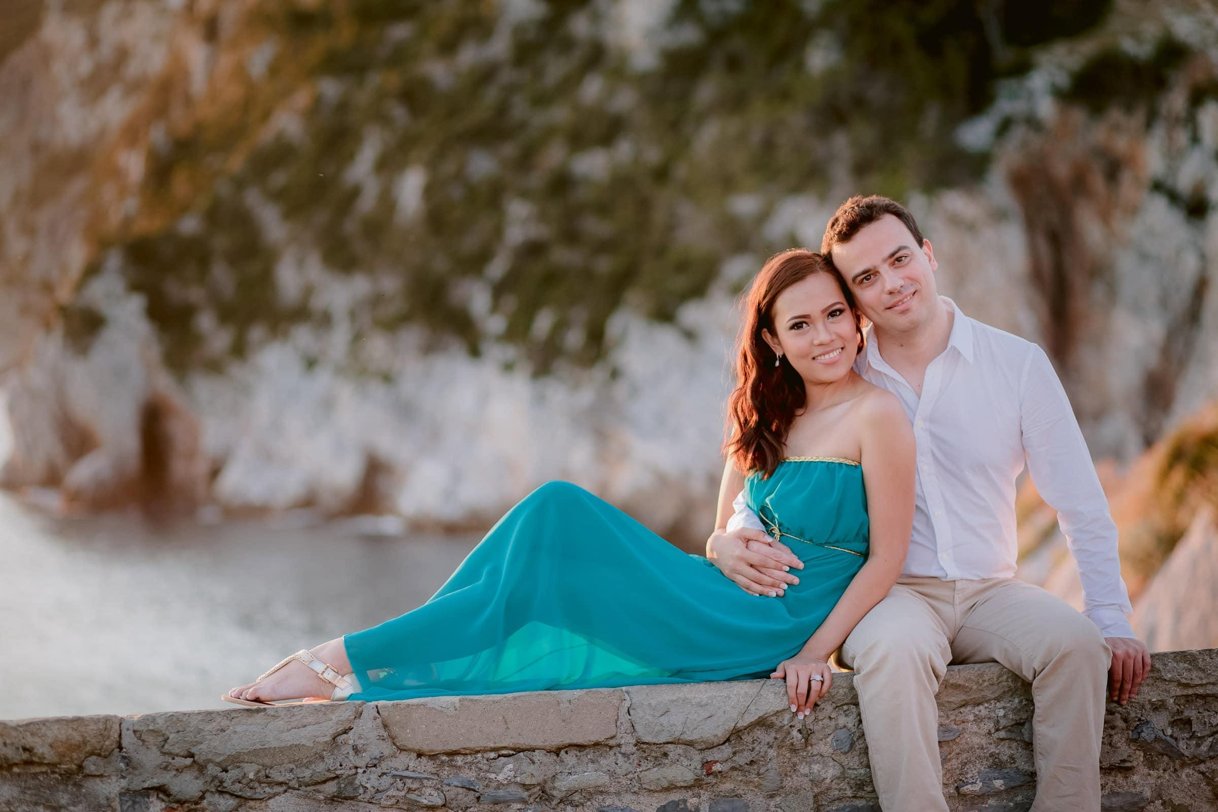 happy honeymooners